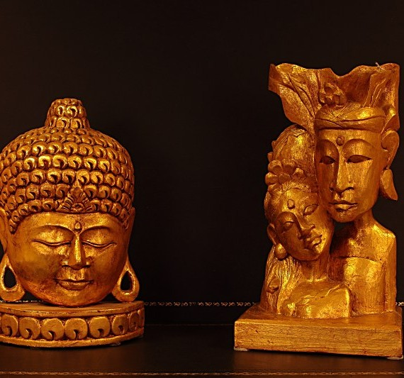 Oggettistica Etnica - Statue legno Indonesia