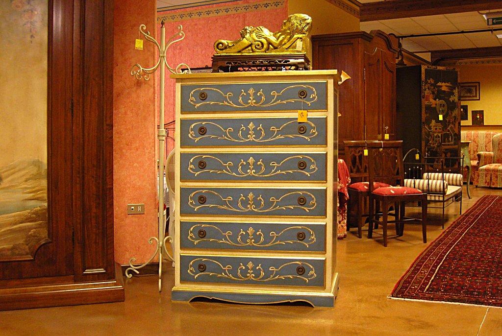 SETTIMANALE LACCATO A TEMPERA CON DECORI Arredamenti BIANCO Savigliano (CN) www.arredamentibianco.it tel. 0172.71.61.47 Chiudi ART.09-0216