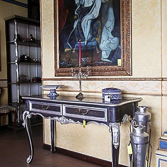 CONSOLLE SAGOMATA, BAROCCHETTO, NERO E ARGENTO Arredamenti BIANCO Savigliano (CN) www.arredamentibianco.it tel. 0172.71.61.47 Chiudi ART 02-0240